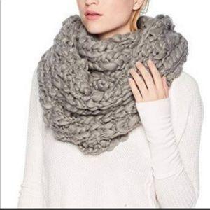 Free People Jumbo knit oversized infinity scarf